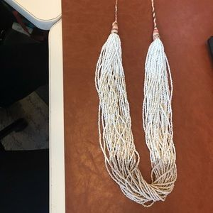 Boho chic Anthropologie necklace